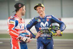 Valentino Rossi, Yamaha Factory Racing, Danilo Petrucci