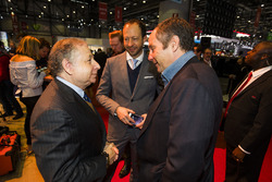 Jean Todt, président de la FIA, Gerhard Berger