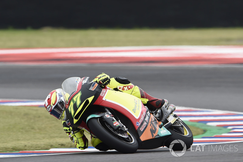 Aegerter, Argentinian Moto2 race 2018