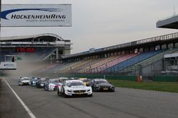 Safety car start practice