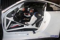 Uno dei piloti della Guest Car