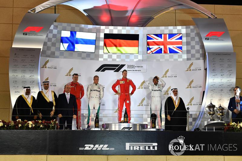GP de Bahreïn - Podium