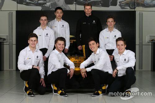 2018 Renault Sport Academy line-up aankondiging