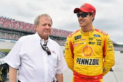Joey Logano, Team Penske Ford and Edsel Ford