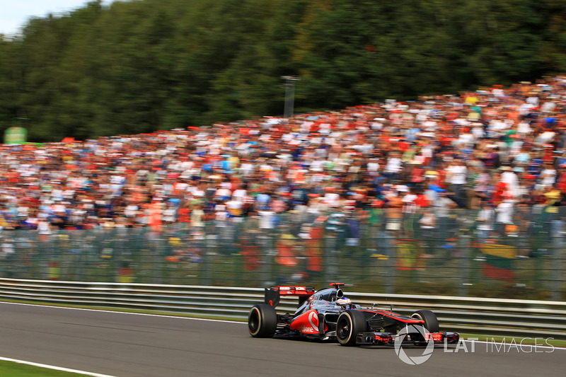 2012 Jenson Button, McLaren