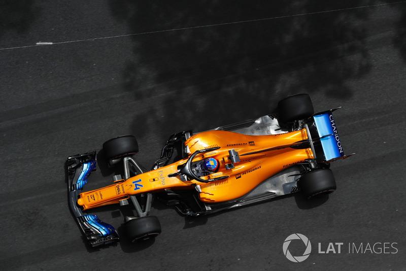 9. Fernando Alonso, McLaren MCL33