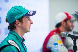 Oliver Turvey, NIO Formula E Team, nella conferenza stampa