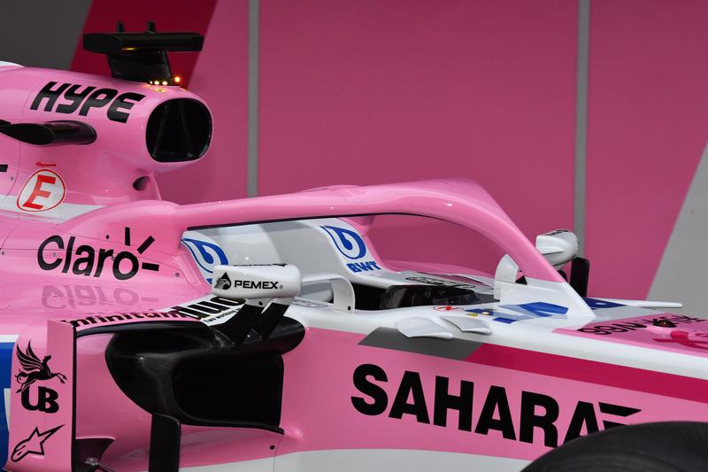 Система Halo на Force India F1 VJM11