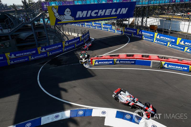 Maro Engel, Venturi Formula E Team, Daniel Abt, Audi Sport ABT Schaeffler, Felix Rosenqvist, Mahindra Racing