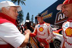 Polesitter Scott McLaughlin, Team Penske Ford, Fabian Coulthard, Team Penske Ford