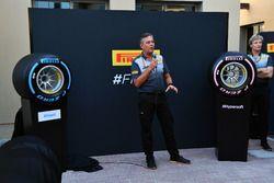 Mario Isola, directeur sportif de Pirelli, au lancement Pirelli 2018