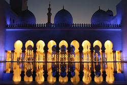 La grande mosquée Sheikh Zayed