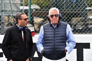 Lawrence Stroll, Racing Point Force India F1 Team owner on the grid