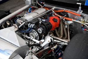 Classic Nissan racer detail
