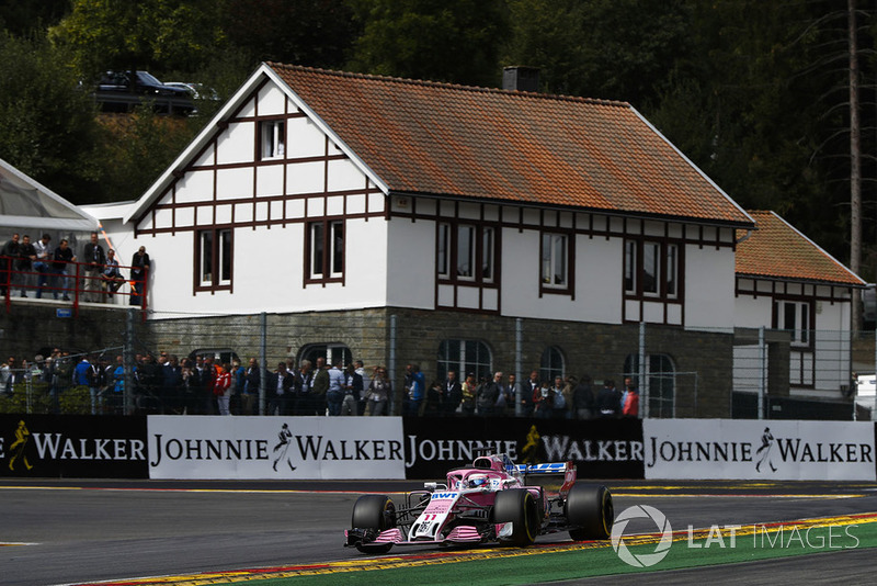 5. Sergio Perez, Racing Point Force India VJM11