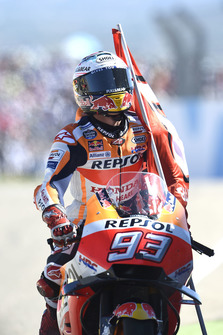 Race winner Marc Marquez, Repsol Honda Team, Wins