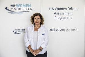 Michele Mouton - Programa de Evaluación de FIA Mujeres Piloto