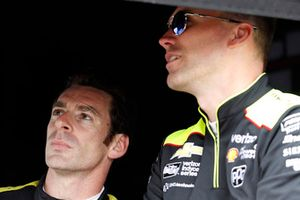 Simon Pagenaud, Team Penske Chevrolet and Ben Bretzman