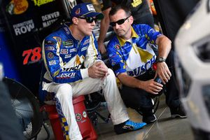 Kevin Harvick, Stewart-Haas Racing, Ford Fusion Busch Beer Throwback and Rodney Childers