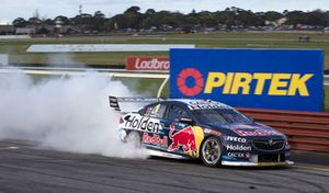 1. Jamie Whincup, Paul Dumbrell, Triple Eight Race Engineering Holden