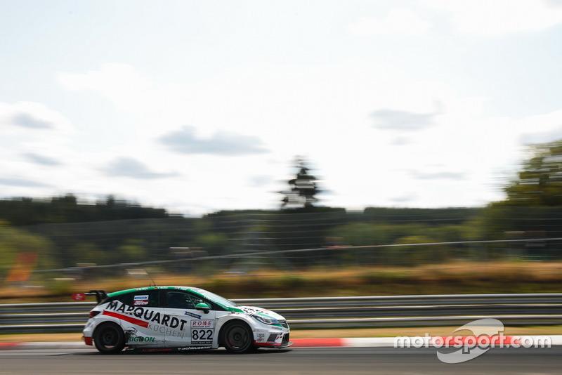 #822 Kissling Motorsport Opel Astra TCR: Thomas Jäger, Thorsten Wolter, Rudolf Rhyn