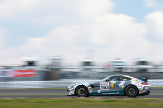 #163 Mercedes-AMG GT4: Fidel Leib, Stefan Karg, Moritz Oberheim
