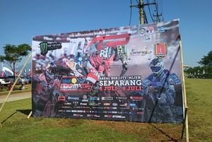 Banner MXGP Semarang