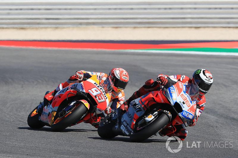 GP de Saint-Marin : Marc Márquez (Repsol Honda Team), 2e