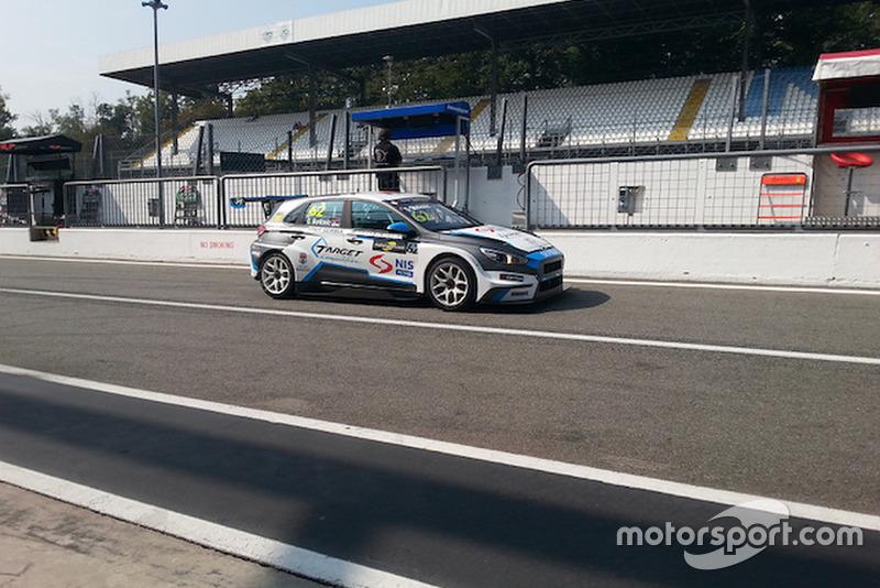Dušan Borković, Hyundai i30 N TCR, Target Competition