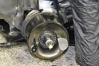 Tambour de frein de la Mercedes-AMG F1 W09