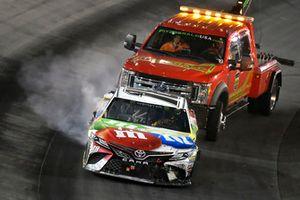 \Kyle Busch, Joe Gibbs Racing, Toyota Camry M&M's White Chocolate wrecks