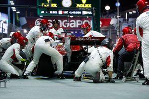 Marcus Ericsson, Sauber C37, au stand