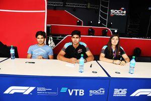 Pedro Piquet, Trident, Juan Manuel Correa, Jenzer Motorsport, Tatiana Calderon, Jenzer Motorsport