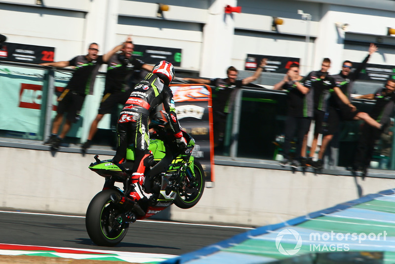 Jonathan Rea, Kawasaki Racing logra su 4º título de WSBK