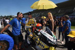 Davide Stirpe, Extreme Racing Service, in griglia di partenza