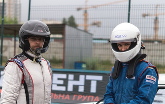 Антон Поляничко та Павло Мар'яненко перед гонкою