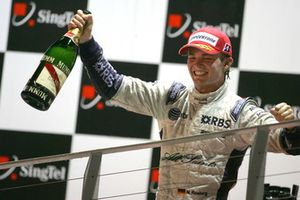 Nico Rosberg, Williams en el podio