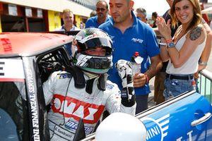 Il vincitore Gustavo Sandrucci, Mini John Cooper Works Pro, Melatini Racing