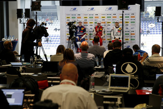 Press Conference, Mick Schumacher, PREMA Theodore Racing Dallara F317 - Mercedes-Benz, Robert Shwartzman, PREMA Theodore Racing Dallara F317 - Mercedes-Benz, Alex Palou, Hitech Bullfrog GP Dallara F317 - Mercedes-Benz