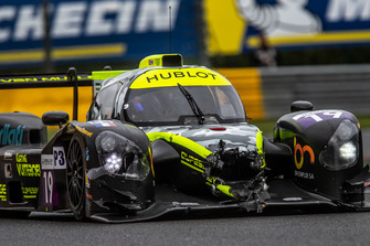 #19 M Racing - YMR Norma M 30 - Nissan: David Droux, Lucas Légéret, Romano Ricci damaged