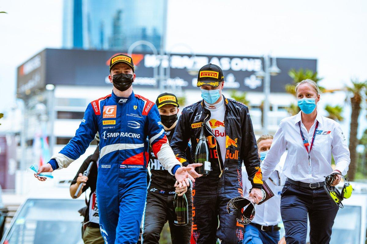 Robert Shwartzman, Prema Racing, Juri Vips, Hitech Grand Prix