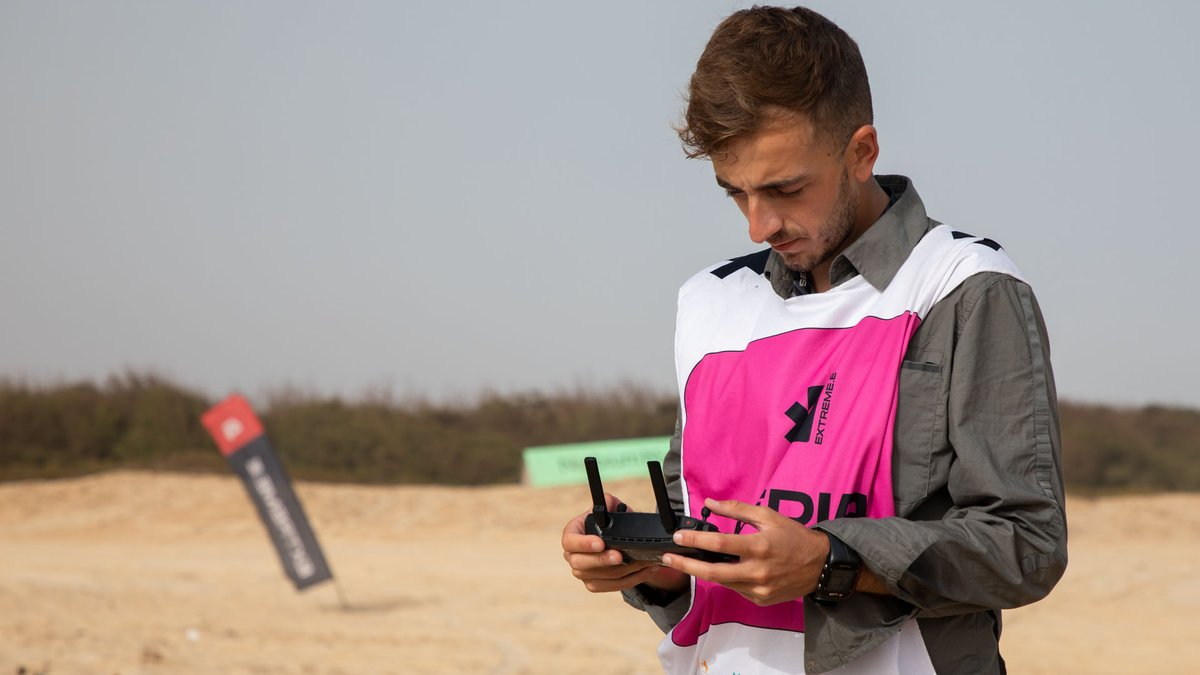 Charly López, fotógrafo de Motorsport Images, en el Ocean X-Prix