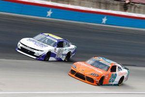Harrison Burton, Joe Gibbs Racing, Toyota Supra Offerpad, Jeb Burton, Kaulig Racing, Chevrolet Camaro Nutrien Ag Solutions