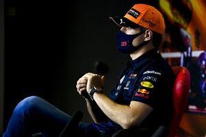 Max Verstappen, Red Bull Racing in de persconferentie