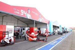 Le garage de Mahindra Racing
