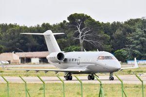 Bombardier Challenger 600-2B16, il jet personale di Lance Stroll, Aston Martin