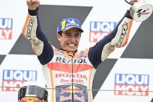 Podio: Ganador Marc Márquez, Repsol Honda Team