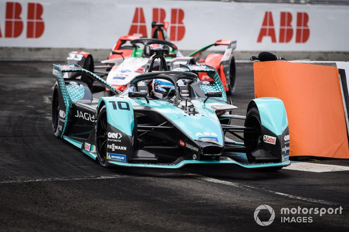 Sam Bird, Jaguar Racing, Jaguar I-TYPE 5, Rene Rast, Audi Sport ABT Schaeffler, Audi e-tron FE07