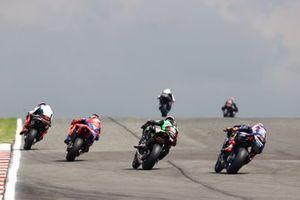 Tom Sykes, BMW Motorrad WorldSBK Team, Leon Haslam, Team HRC, Alex Lowes, Kawasaki Racing Team WorldSBK, Garrett Gerloff, GRT Yamaha WorldSBK Team