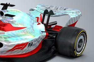 2022 F1 car